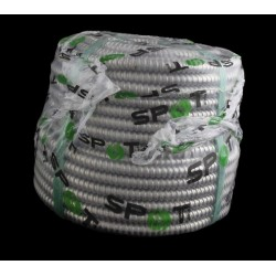 TUB FLEXIBIL METALIC OTEL ZINCAT 14mm , 50M/SUL
