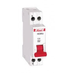 HIMEL- Intreruptor automat 1P+N C 4.5kA 20A