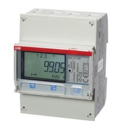 ABB - kWh B23 111-100 CONTOR TRIFAZAT DIRECT 65A SINA DIN