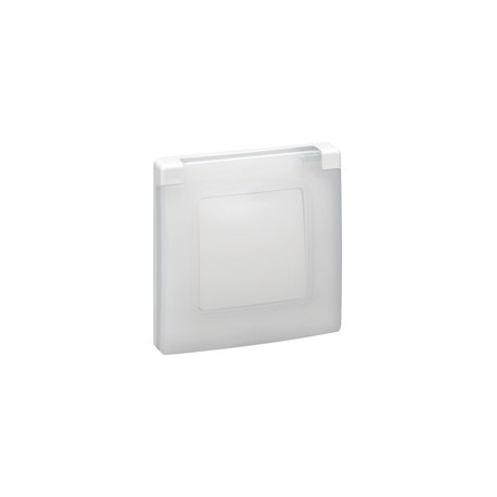 NILOE- Capac protectie IP44-IK07, 1 post, alb
