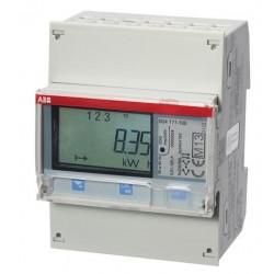 ABB - kWh B24 111-100 CONTOR TRIFAZAT INDIRECT 5A SINA DIN