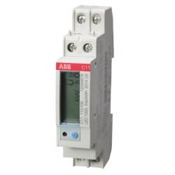 ABB - kWh C11 110-100 CONTOR MONOFAZAT DIRECT 40A SINA DIN