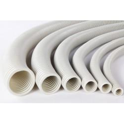 TUB FLEXIBIL PVC 20, GRI, 750N