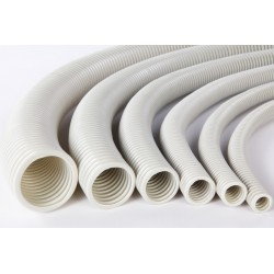 TUB FLEXIBIL PVC 40, GRI, 750N