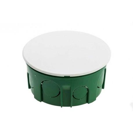 Modulo Doza de conexiuni rotunda verde 100X50