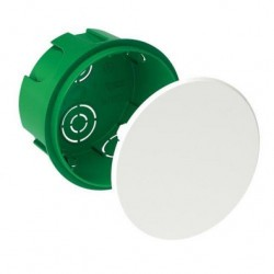 Modulo Doza de conexiuni rotunda verde 70X40