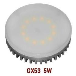 BEC CU LEDURI 240V GX53 5W L.RECE