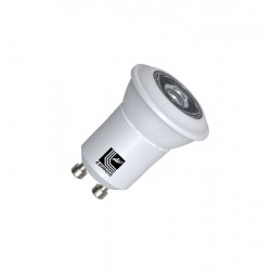 POWER LED MR11/GU10 3W 230V ALB CALD 30'