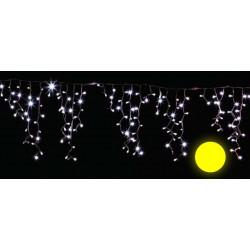 TURTURI LUMINOSI FLASH ALB TLS41-YW: 192 LED-URI GALBENE, 4,2X0,8M,CABLU ALB