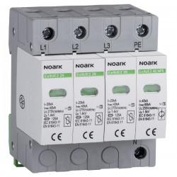 Dispozitive de protecție la supratensiune Ex9UE, clasa 2 ( C ), In 20 kA, Uc 275 VAC, 4 poli
