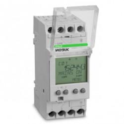 CONTROLER DE TIMP DIGITAL, PROGRAM SAPTAMANL SI ZILNIC, 1 CANAL CU CONTACT CO , TENSIUNE 230V