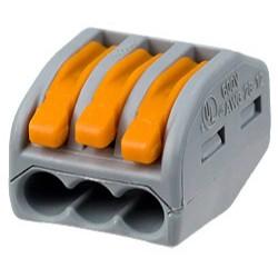 CONECTOR RAPID DOZA CU PARGHIE 3 INTRARI 32 A 4mm2