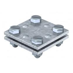 LEGATURA CRUCE PLATBANDA 40x40mm