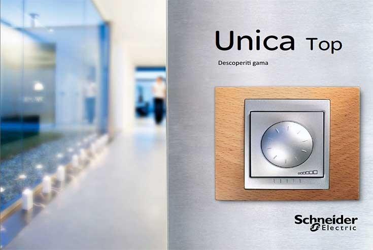 Gama de produse Unica TOP de la Schneider Electric